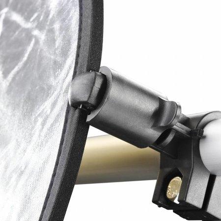 walimex Reflektorhalter-Set silber/gold, Ø 100cm