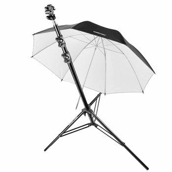 walimex pro Systeemflitssteun + statief + paraplu