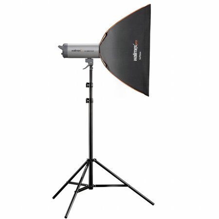 walimex pro Softbox PLUS Orange Line 50x70