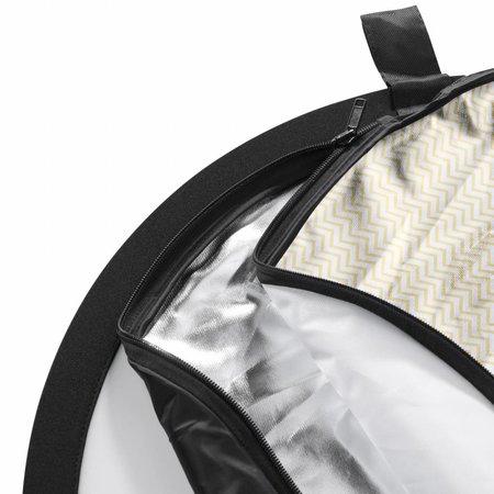 walimex Opvouwbare Reflector 5 in1 Set Wavy, 150x200cm