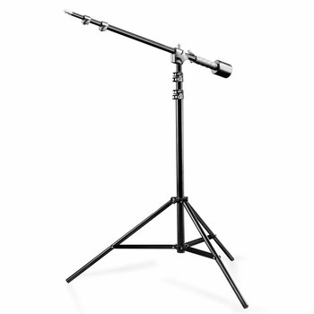 walimex Boom Arm Stand with Weight, 100-170cm
