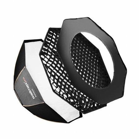 walimex pro Octagon Softbox PLUS Orange Line 45