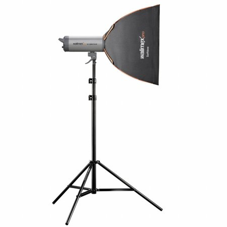 walimex pro Softbox PLUS Orange Line 60x60