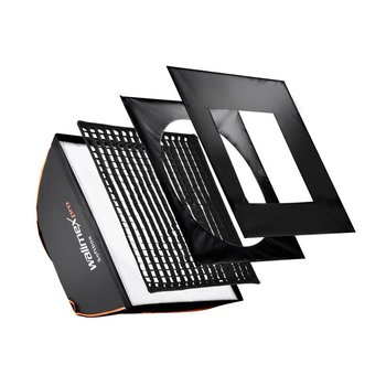 walimex pro Softbox Vierkant PLUS OL 40x40cm | Diverse merken