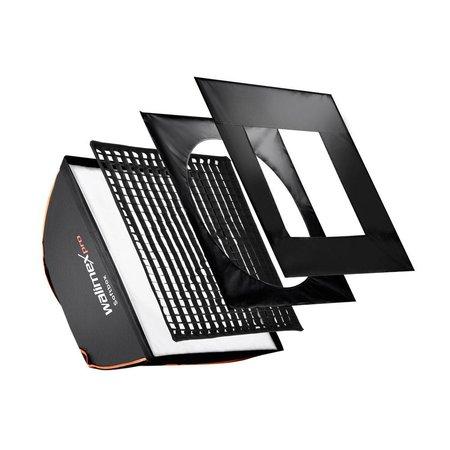 walimex pro Softbox Plus OL 40x40cm für verschiedene marken