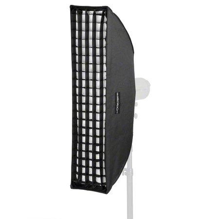 walimex pro Striplight Softbox Plus 25x90 | For various brands speedring