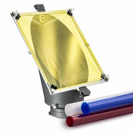 walimex Achtergrondreflector & Kleurenfilter