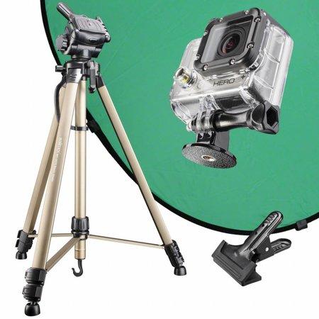 mantona Green Screen Set für GoPro