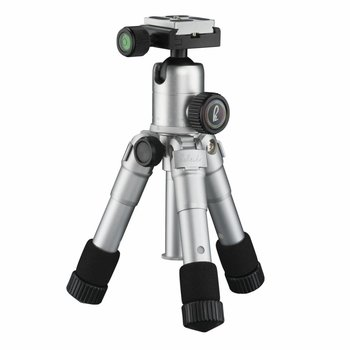mantona Tripod Kaleido mini shining silver metallic