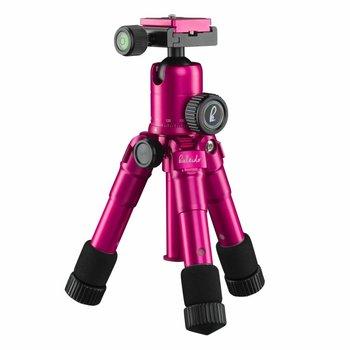 mantona Mini Tripod Kaleido lady pink metallic