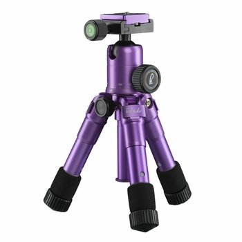 mantona Tripod Mini light kaleido purple metallic