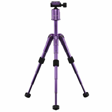 mantona Mini Statief Kaleido purple metallic