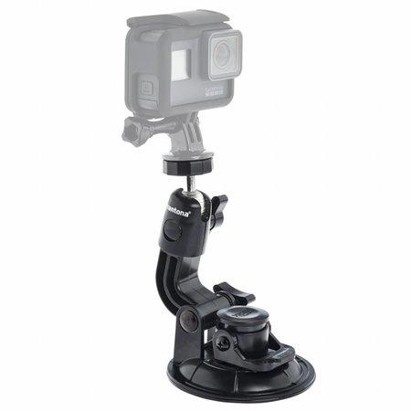 mantona Sucker fixture XL with 1/4 inches GoPro