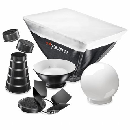 walimex Compact Flitsers Softbox Set Sony / Canon 430EX