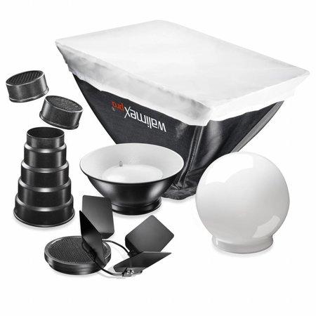walimex Compact Flitsers Softbox Set Nikon SB900
