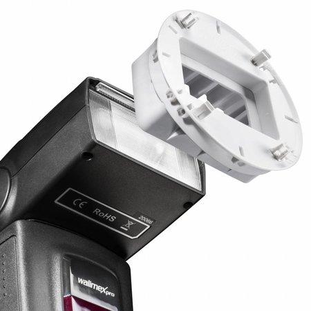 walimex Flash Mounts, 7 pcs. f. Canon 580EX II