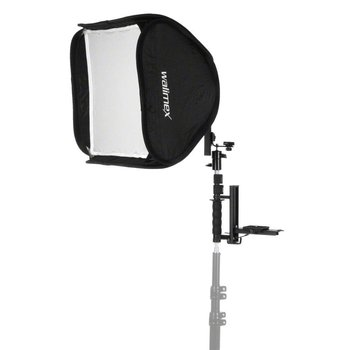 walimex Flip Flash Bracket w Magic Softbox 40x40