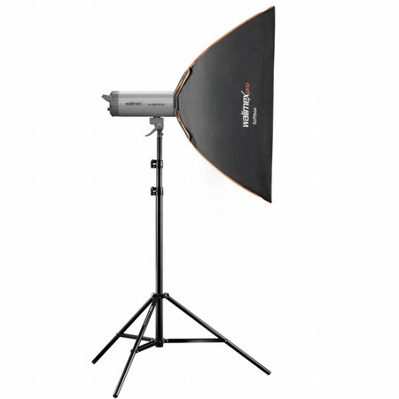 walimex pro Softbox PLUS Orange Line 60x90