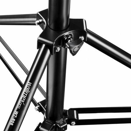 walimex Lampstatieven WT-806  Set van 3, 256cm