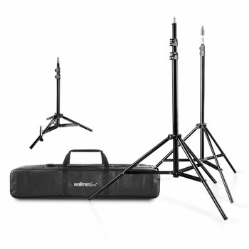 walimex Lamp Tripod Set with Bag, 4 pcs.