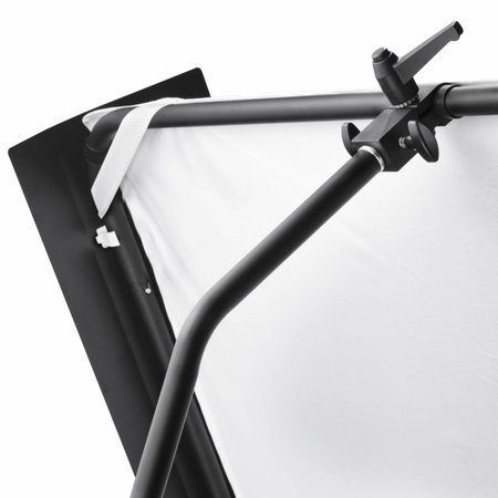 walimex pro Reflector Panel with Barn Doors, 1x1m