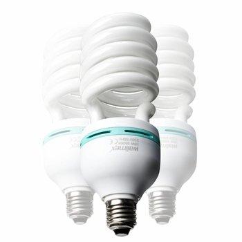 walimex Daylight Spiraalvormige Lamp 85W, 3 stuks