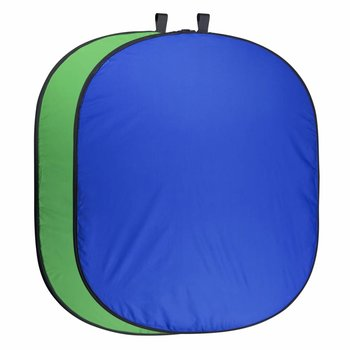 walimex pro Foldable Background 150 x 210 blue/green