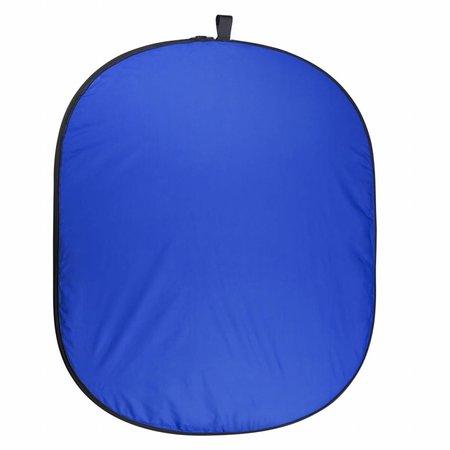 walimex pro Falthintergrund grün/blau, 150x210cm