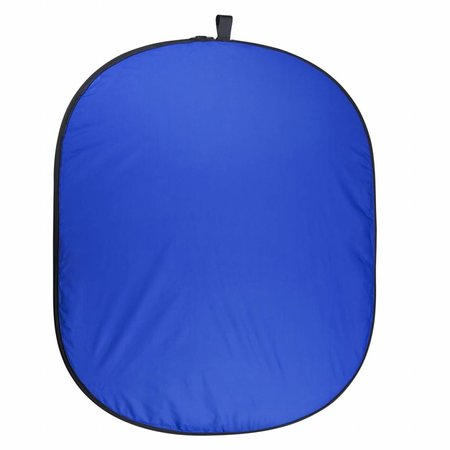walimex pro Opvouwbare Achtergrond 150 x 210 blauw / groen