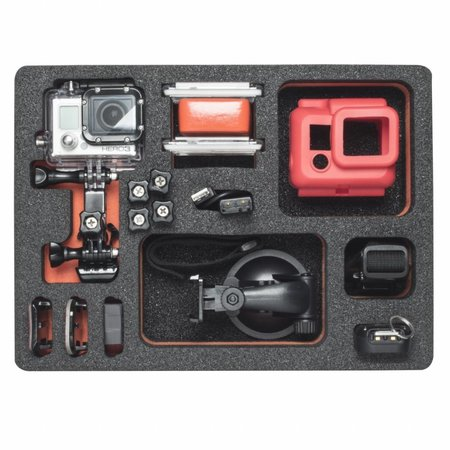 mantona Outdoor Bescherm koffer M inleg GoPro