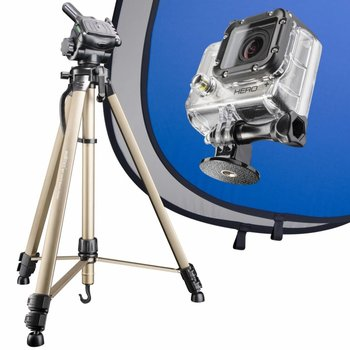 mantona Set Blue Screen for GoPro