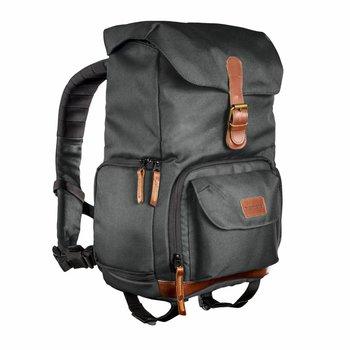 mantona mantona photo backpack Luis junior green, retro