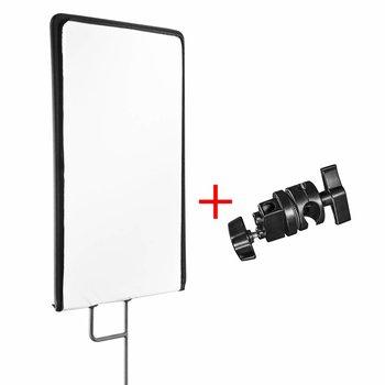 walimex pro Reflector Paneel 4in1, 60x75cm + Klem
