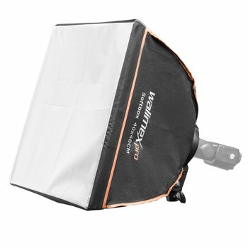 walimex pro Softbox 40x40cm voor Compact Flitsers