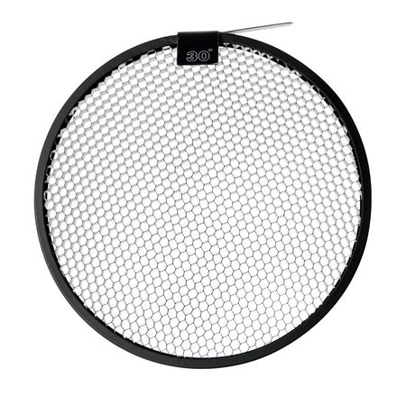 """Paul C. Buff 30° Grid voor 8.5"""" High Output Reflector"""