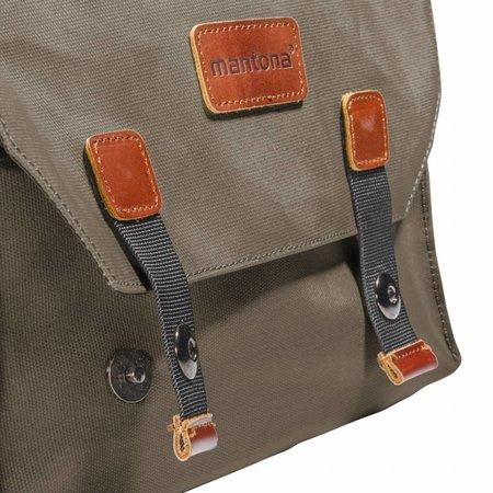 mantona Camera Bag Milano grande brown