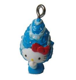 Bedel Hello Kitty blauwe muts