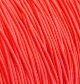 Elastiekdraad neon oranje 0,8 mm (3m)