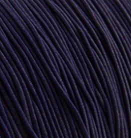 Elastiekdraad donkerblauw 0,8 mm (3m)