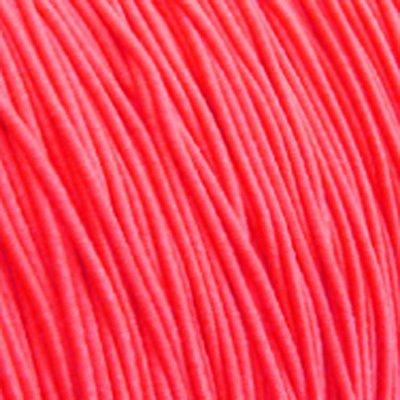 Elastiekdraad neon roze / oranje 0,8 mm (3m)
