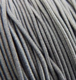 Elastiekdraad antraciet 0,8 mm (3m)