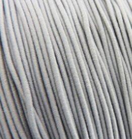 Elastiekdraad grijs 0,8 mm (3m)