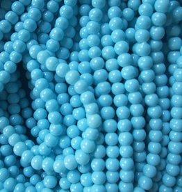 Glaskraal 4mm babyblauw (50x)