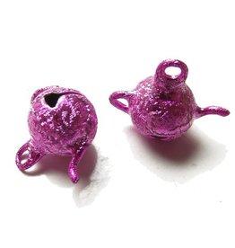Theepotbelletje stardust roze (8x)
