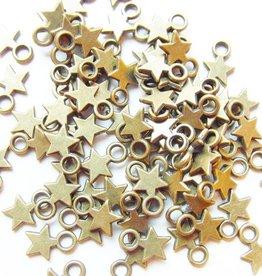 Bedel mini sterretje brons (15x)