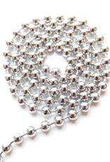 Ball chain antiek zilver 1,2 mm