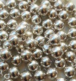 Sterling zilveren belletje 6 mm (1x)