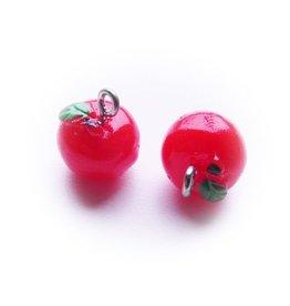 Bedel appeltje rood (2x)