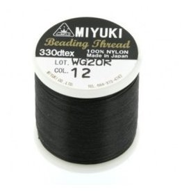 Miyukidraad zwart (50m)