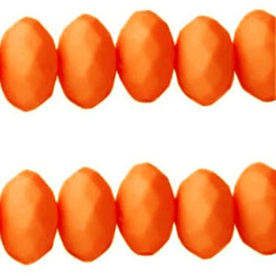 Acryl facetkraal oranje (30x)